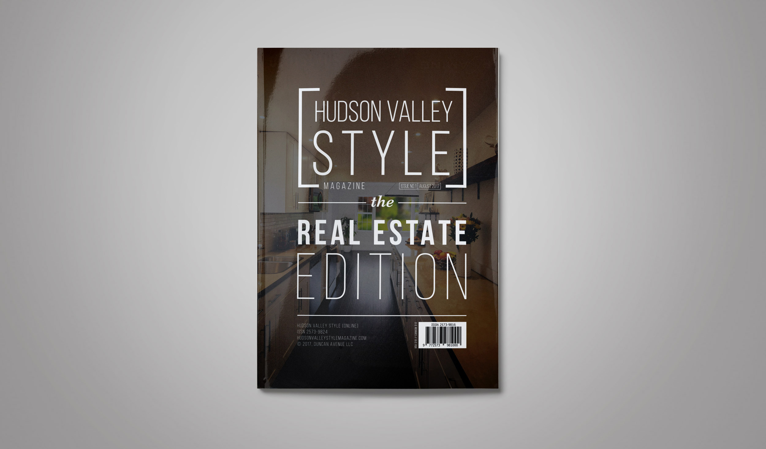 Inaugural Issue of Hudson Valley Style Magazine: The Real Estate Edition