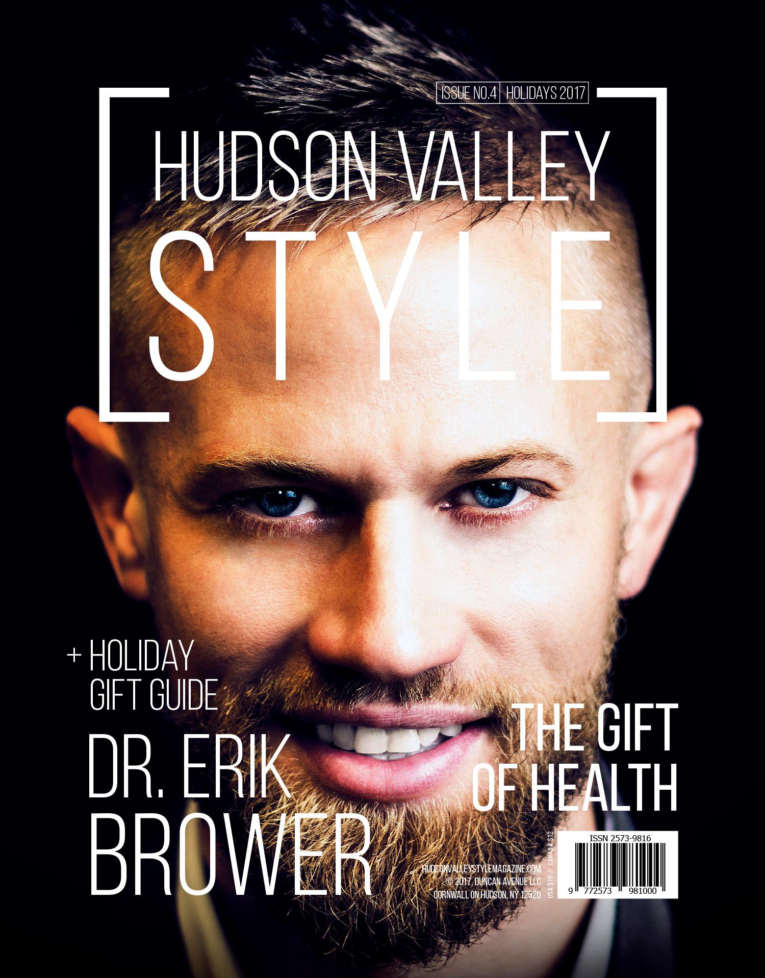 Hudson Valley Style Magazine Cover - Dr. Erik Brower