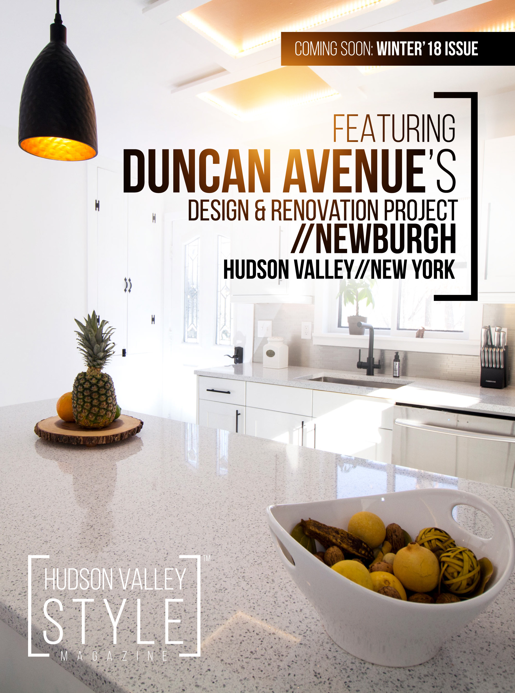 Coming In Winter 2018 Issue: Featured Project By Duncan Avenue Design  Studio   9W Property