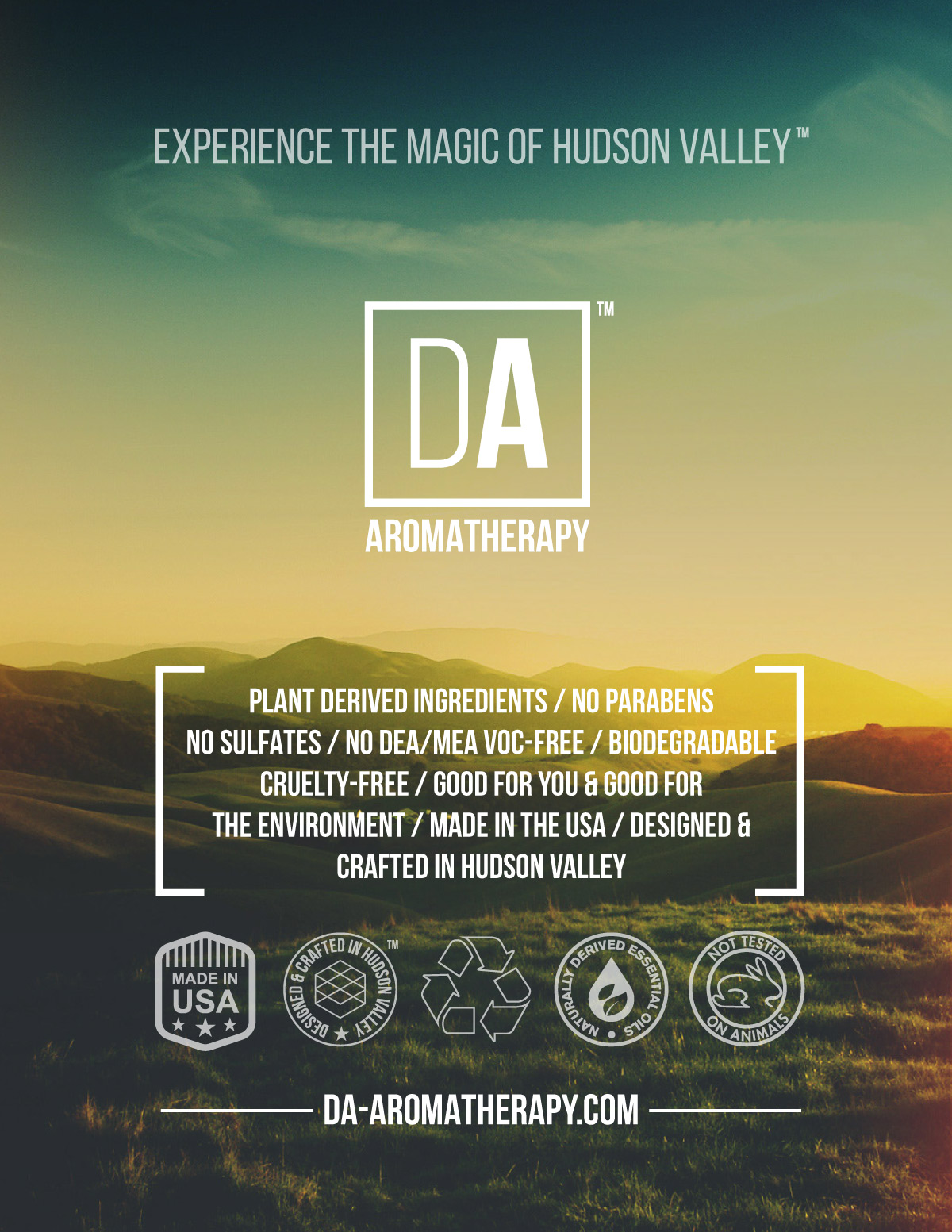 DA Aromatherapy Collection by Duncan Avenue
