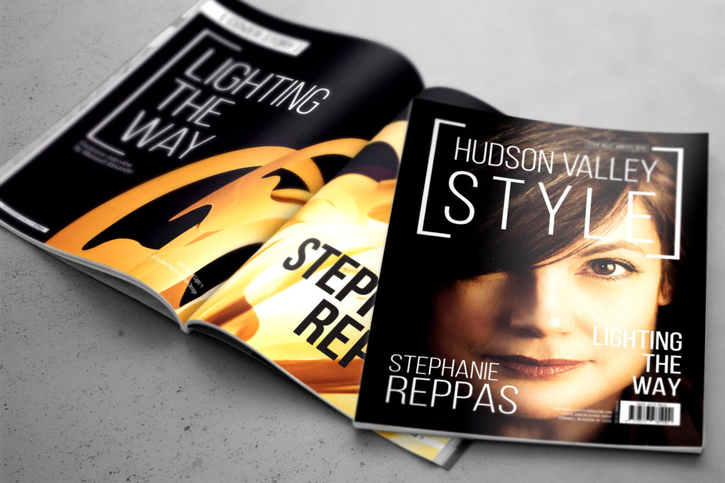 Hudson Valley Style Magazine - Issue No.5 - Stephanie Reppas -Lighting the Way 2018