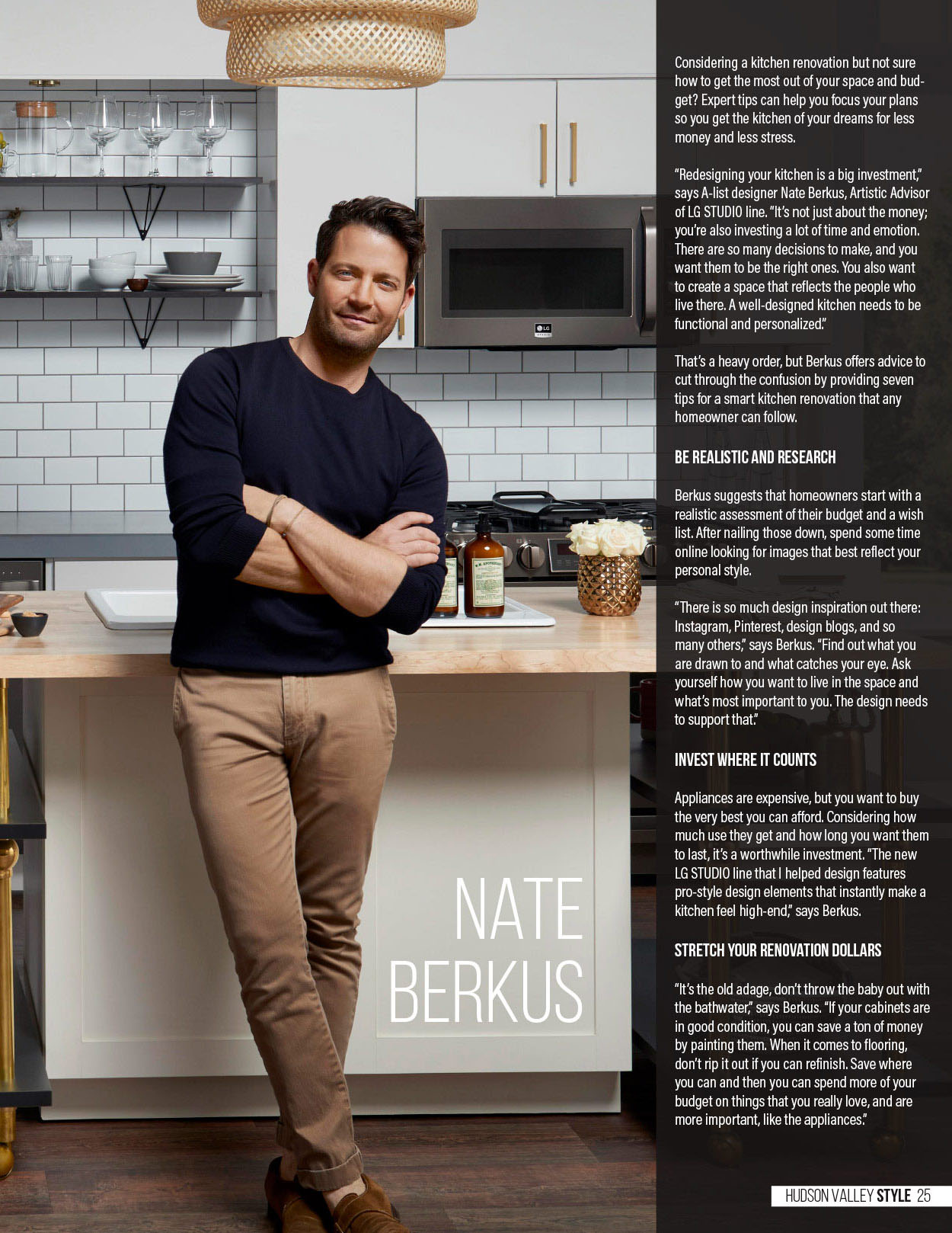 The Golden Rules of Renovation - Nate Berkus - Hudson Valley Style Magazine