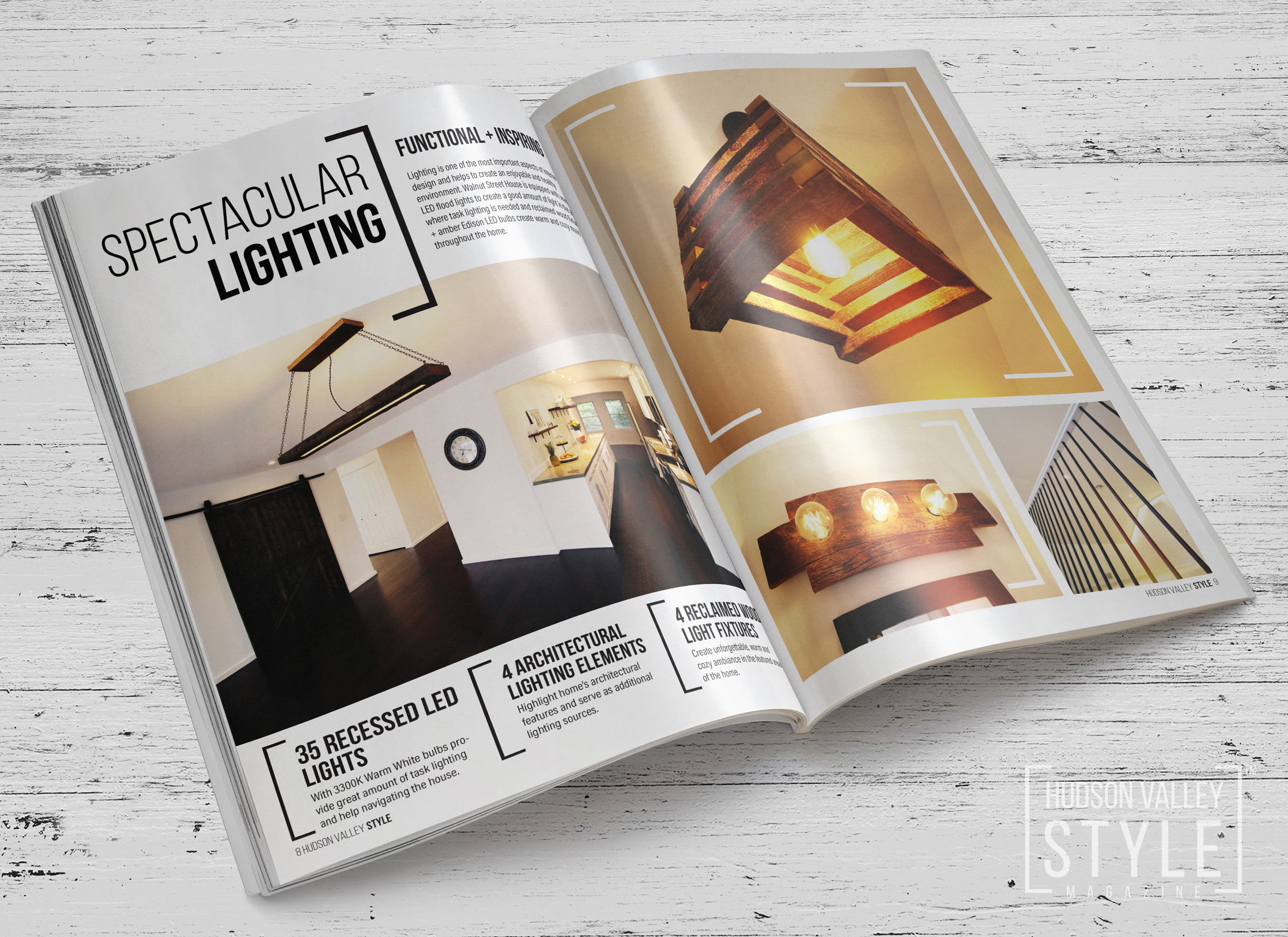 Custom Light Fixtures Design / Hudson Valley, New York Home Design and Renovation Project by Duncan Avenue Design Studio