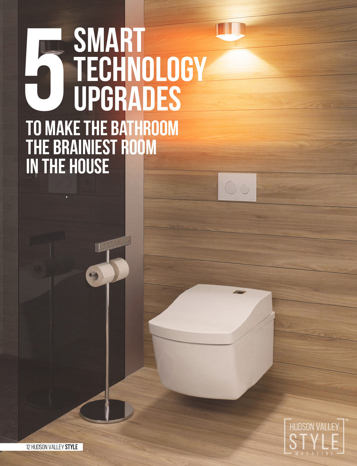 Smart Bathroom Style - Hudson Valley Style Magazine