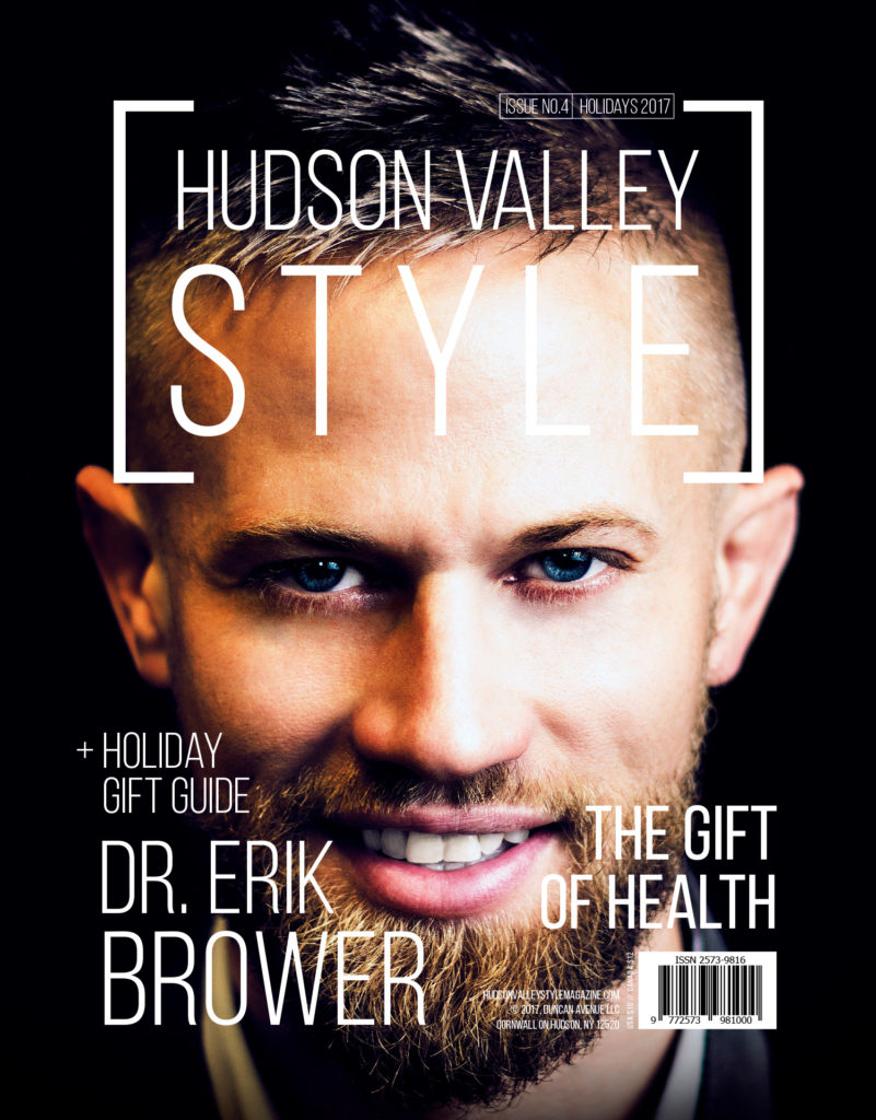 Dr. Erik Brower -Hudson Valley Style Magazine Cover