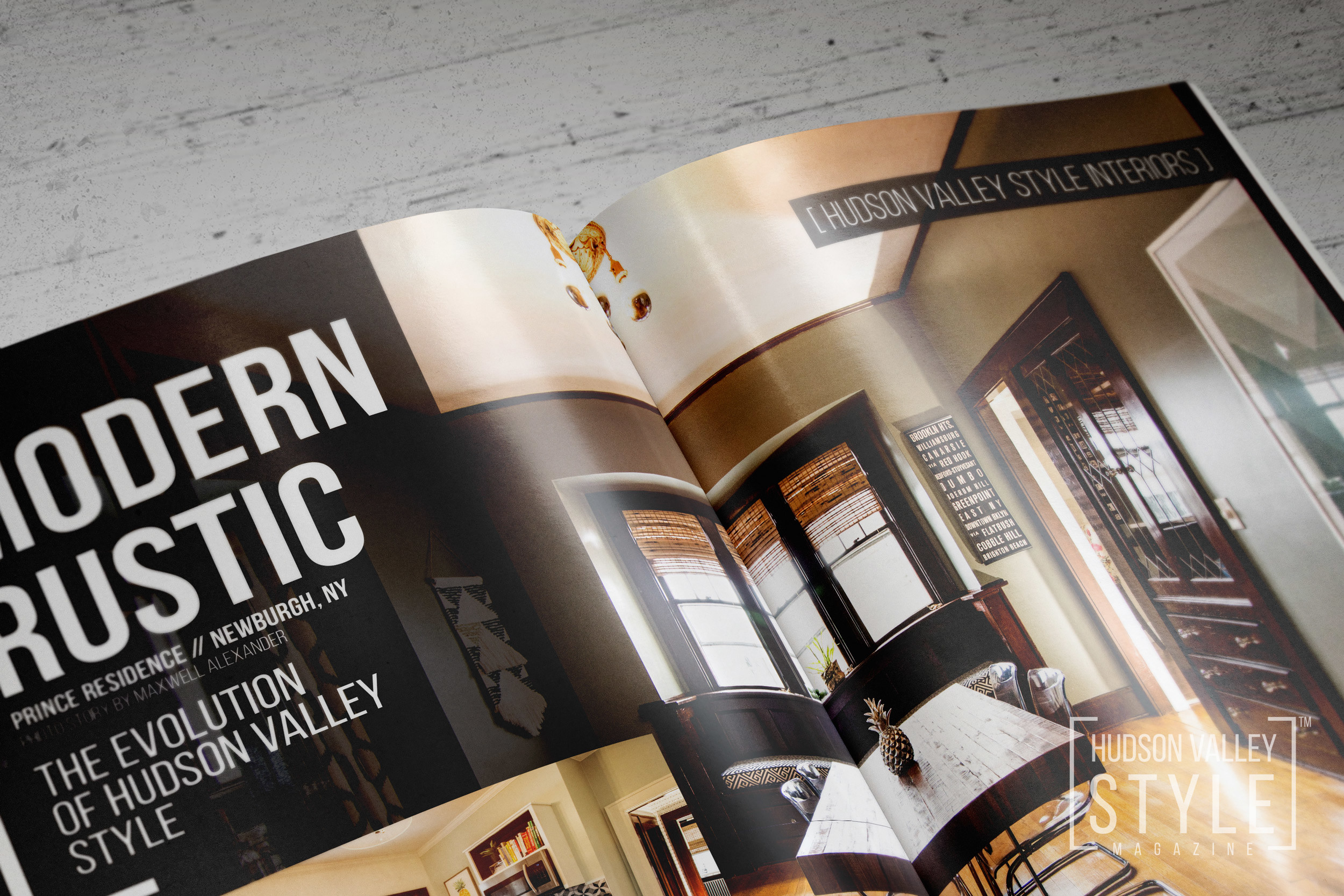 Hudson Valley Style Magazine Spring 2018 Issue Preview - Modern Rustic