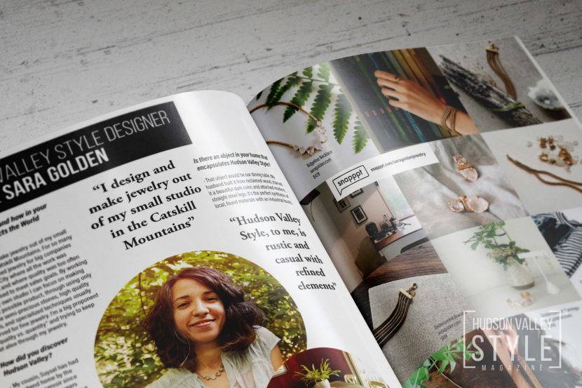 Hudson Valley Style Magazine Designer Profile: Jewelry Designer Sara Golden