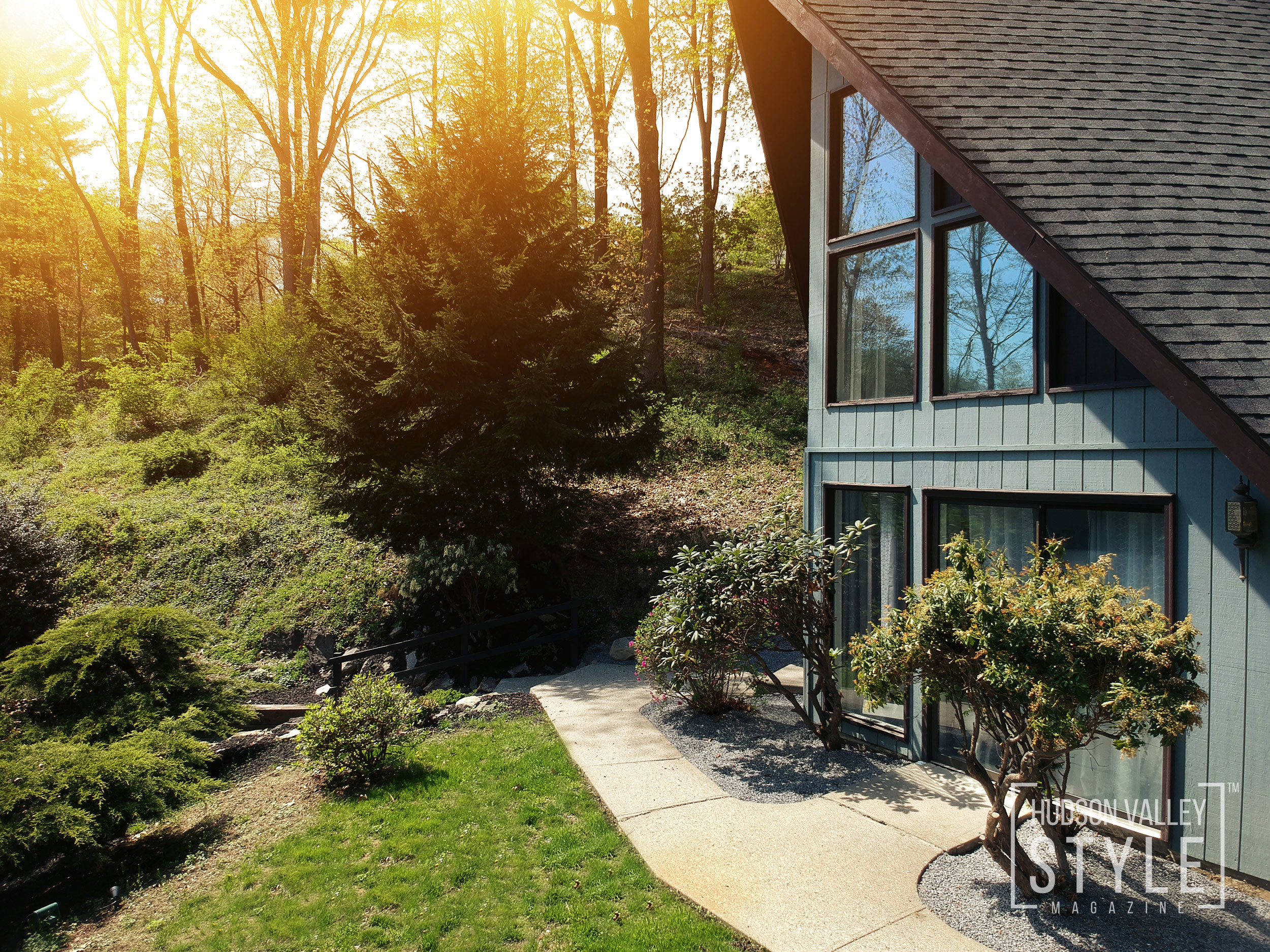 Villa 9W - Architectural Marvel and a Modern Luxury Vacation Getaway in the Hudson Valley