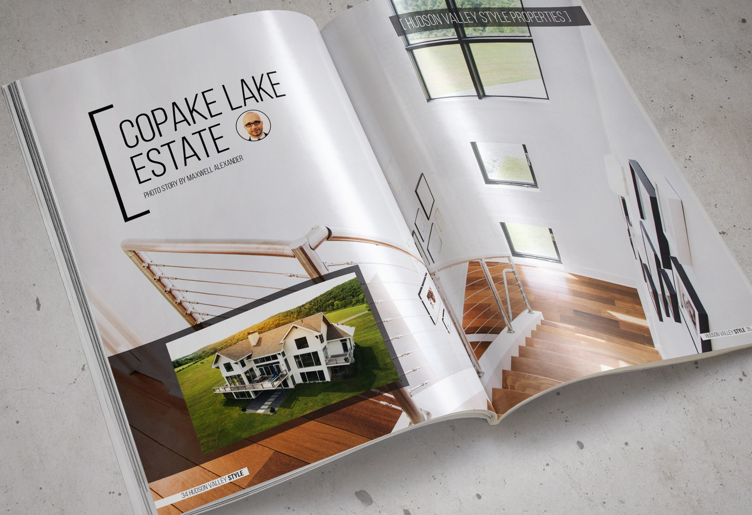 Copake Lake Estate - Hudson Valley Style Magazine - Photo Essay by Maxwell Alexander