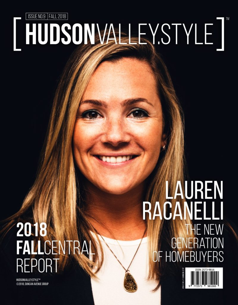 Hudson Valley Style Magazine Fall 2018 Cover: Lauren Racanelli