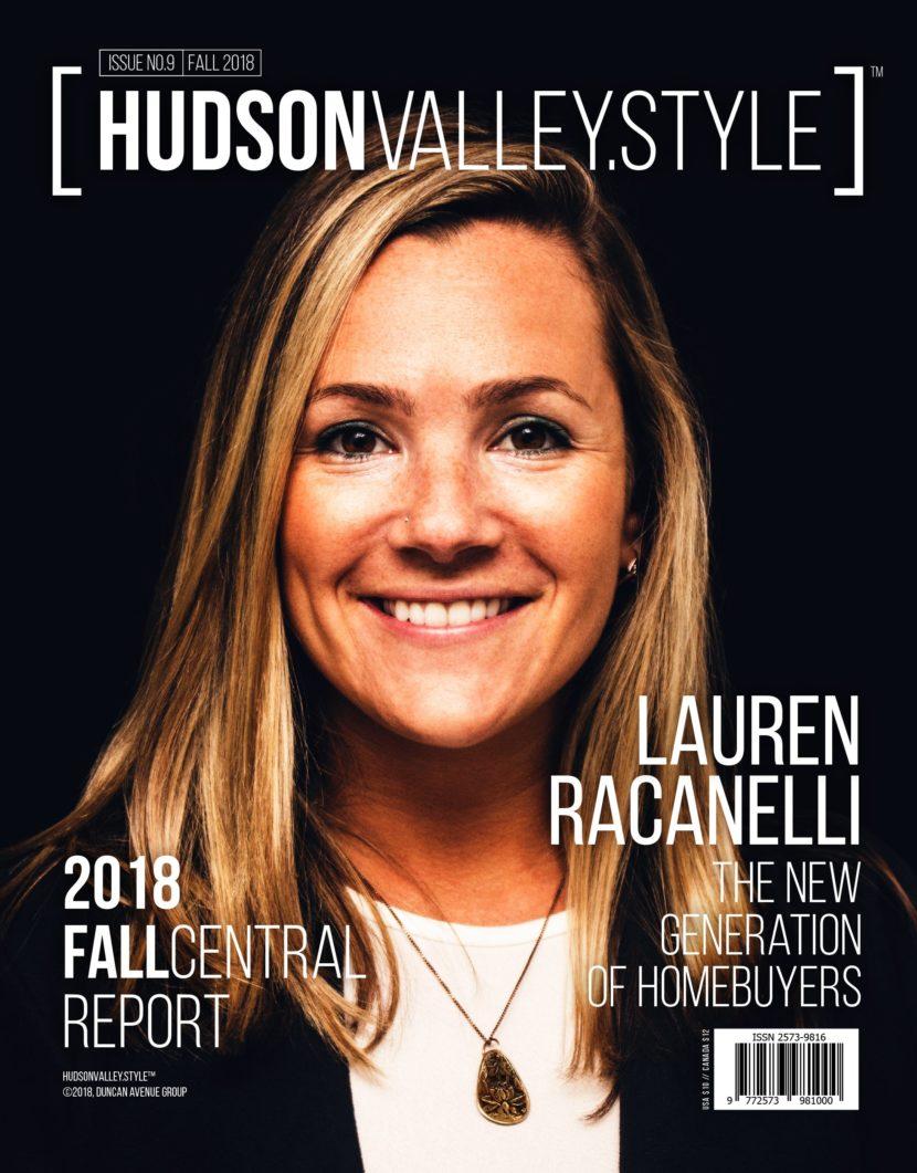 Hudson Valley Style Magazine Fall 2018 Cover: Lauren Racanelli