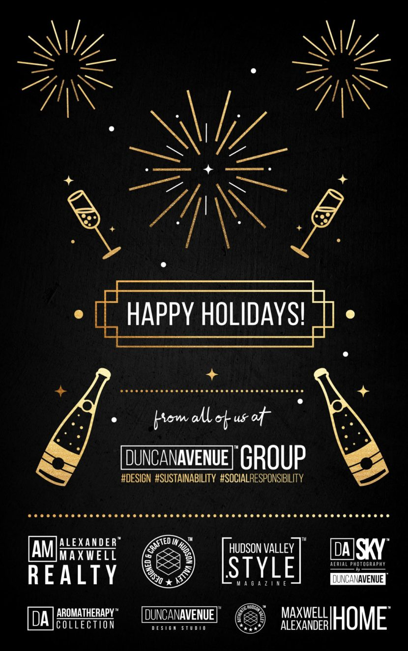 Happy Holidays from all of us at Duncan Avenue Group!