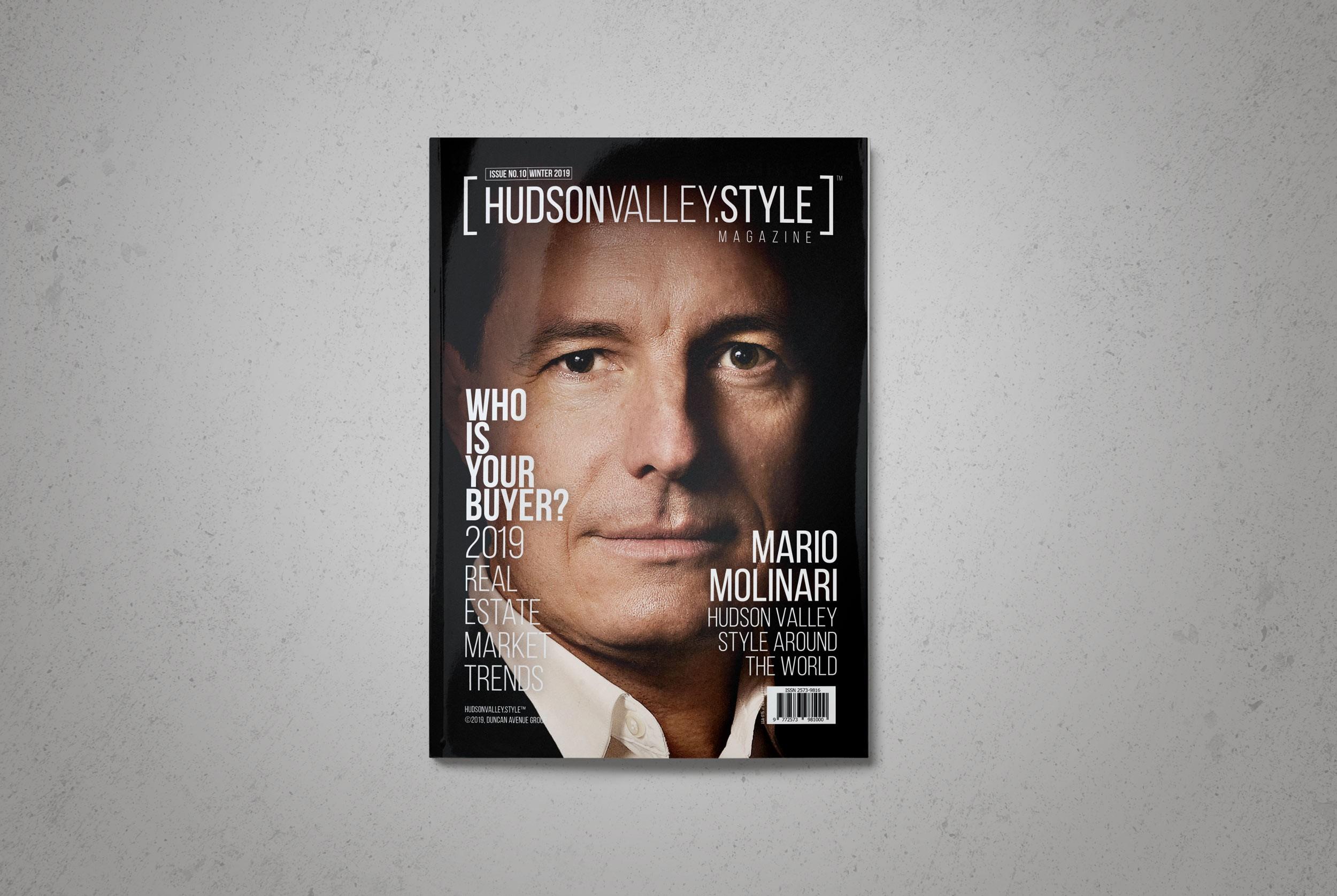 Hudson Valley Style Magazine - Winter 2019 - Mario Molinari
