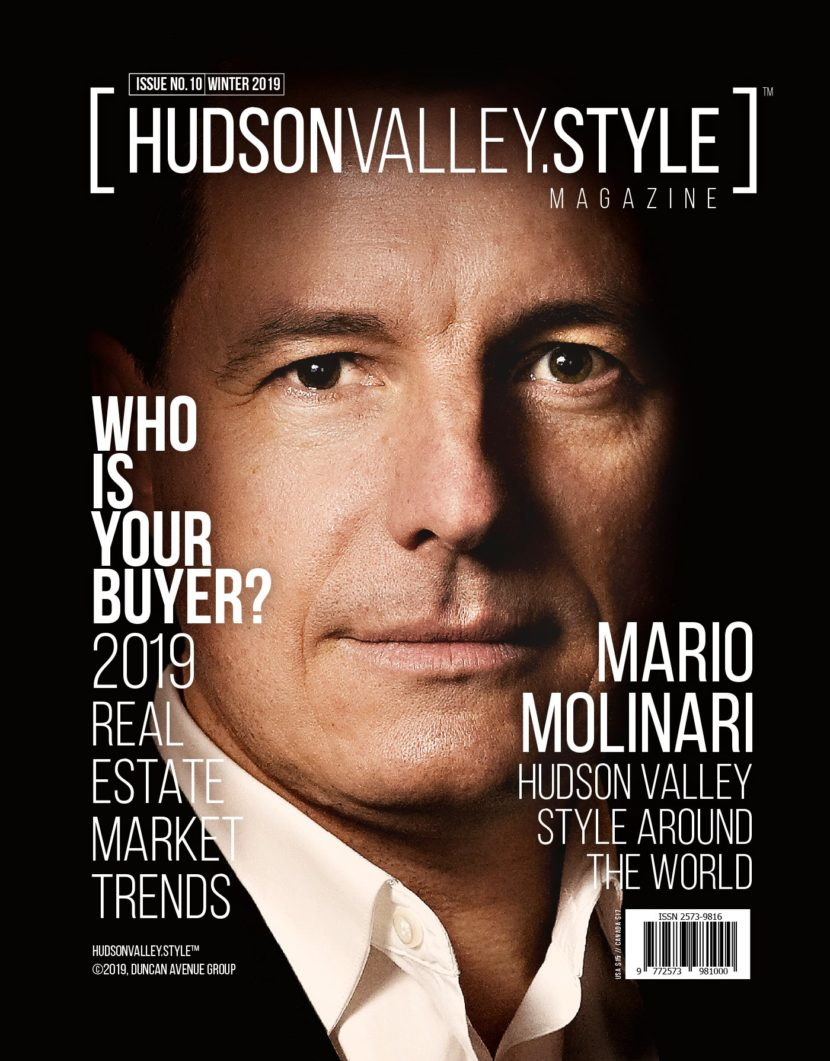 Hudson Valley Style Magazine - Winter 2019 - Mario Molinari