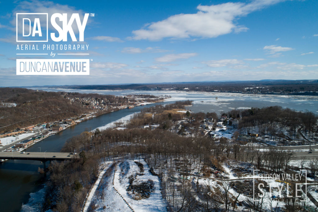 Flying above Kingston – the first capital of New York - Aerial photography by DA SKY Services (Duncan Avenue Group)