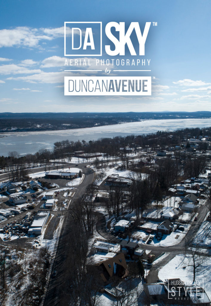 Flying above Kingston – the first capital of New York - Hudson Valley Aerial Photography Story