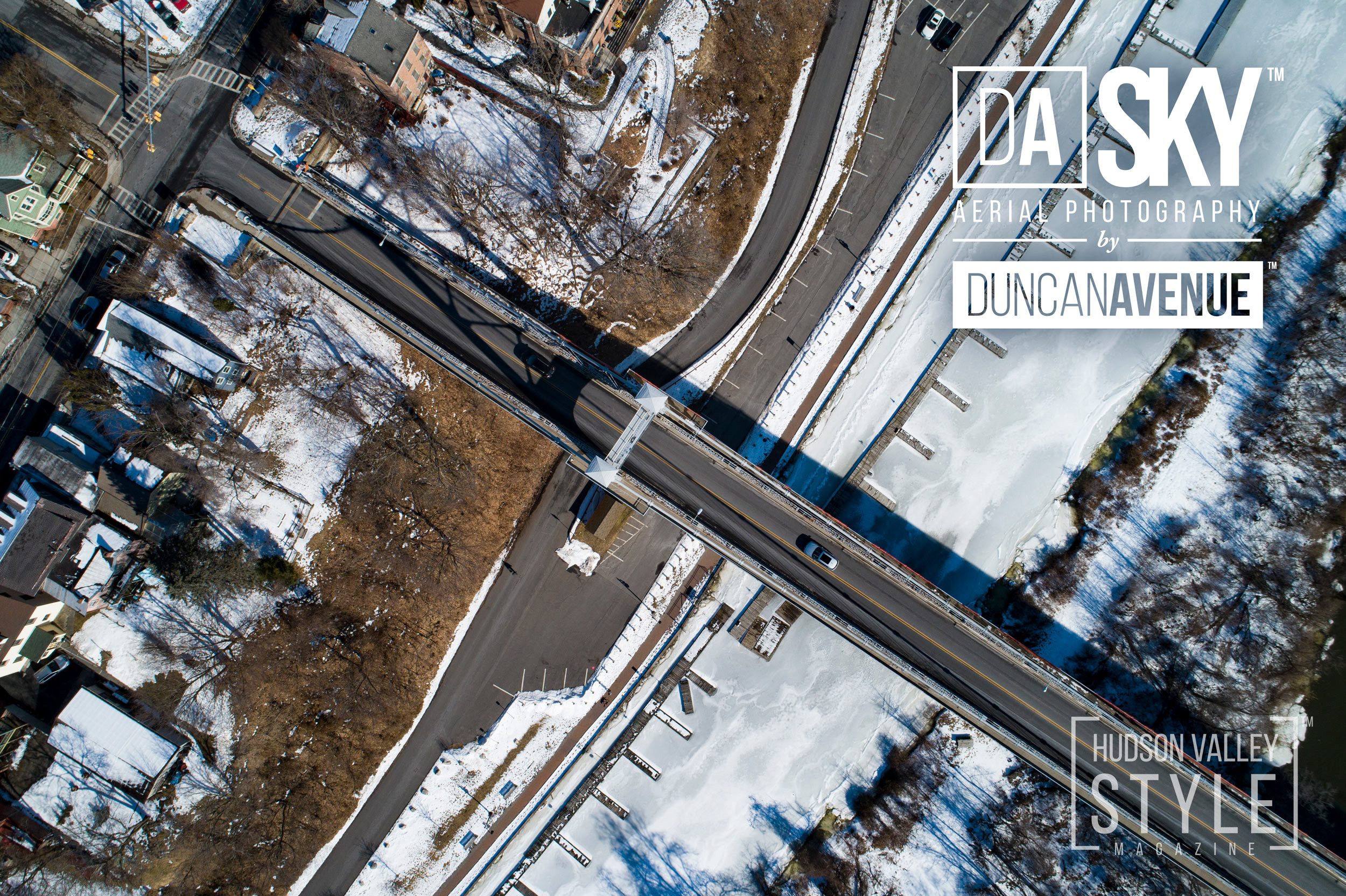 Flying above Kingston – Hudson Valley Aerial Photo Story by Maxwell Alexander