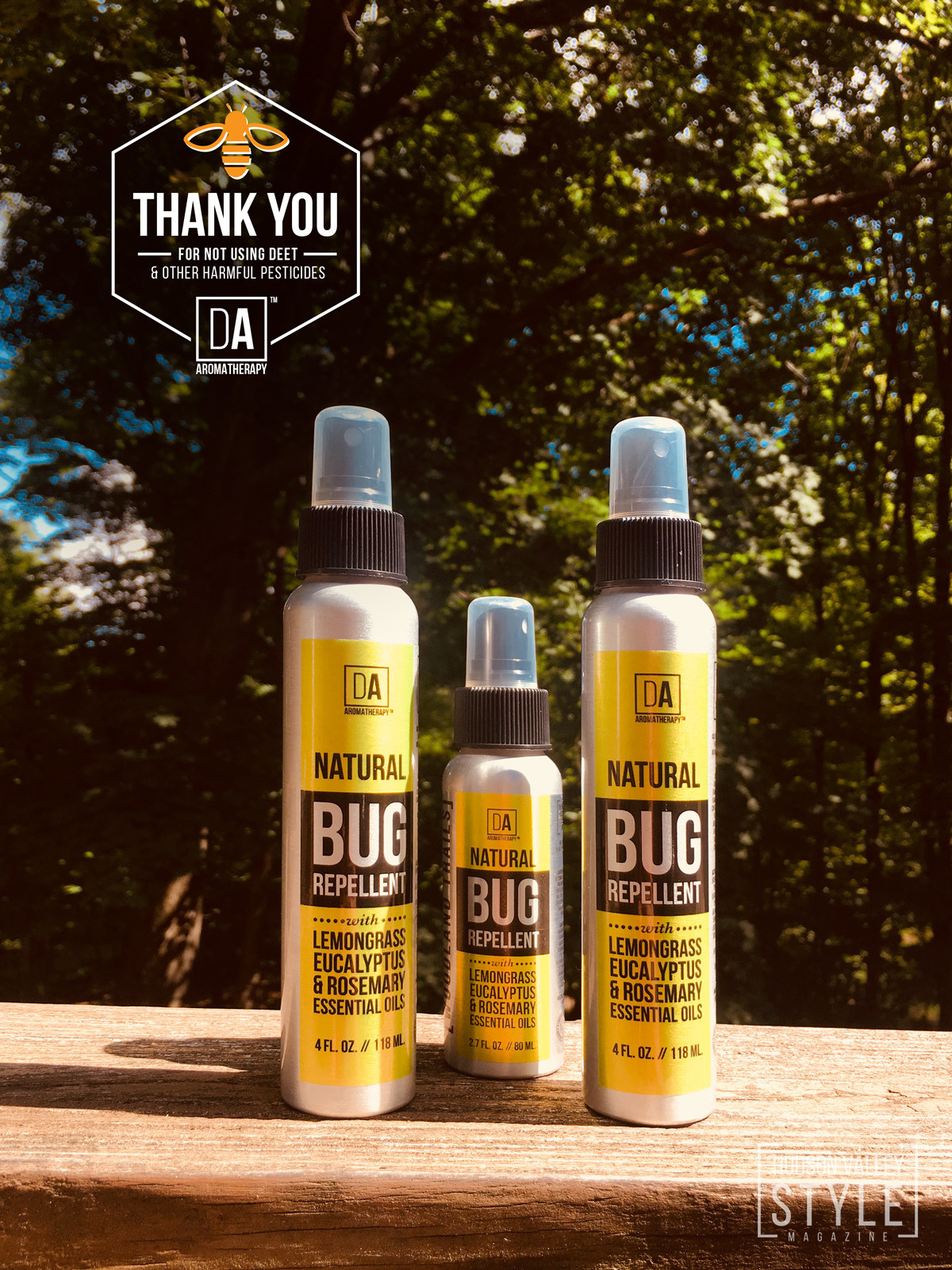 The best natural bug, tick and mosquito repellent you can buy