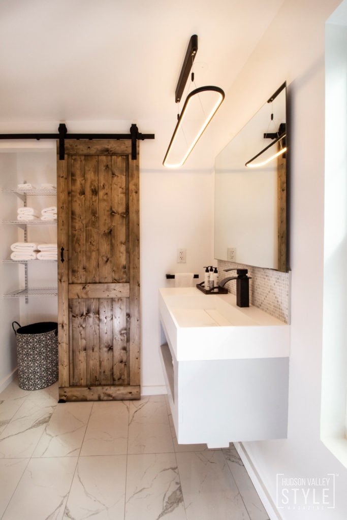 Modern Rustic Luxury in Cornwall on Hudson, NY - Interior Design project by Duncan Avenue Design Studio