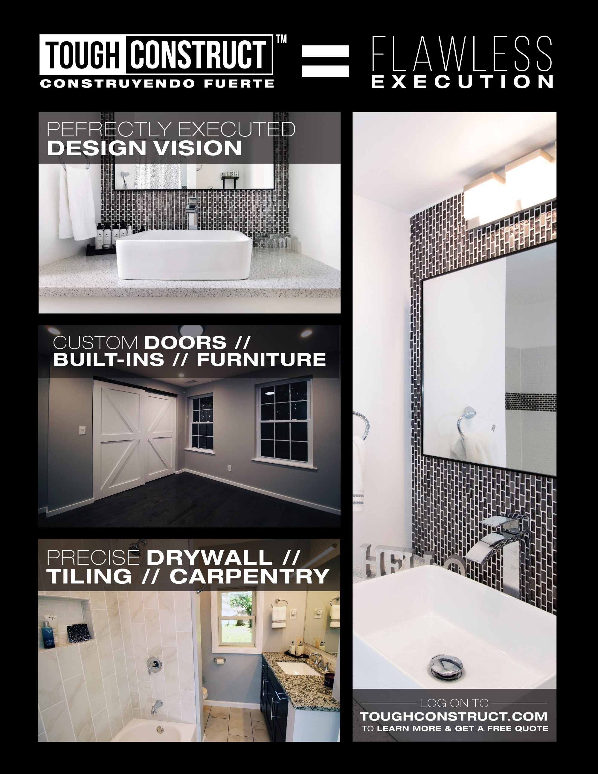 ToughConstruct Hudson Valley - Bathroom, Kitchen, Remodel, Home Improvement
