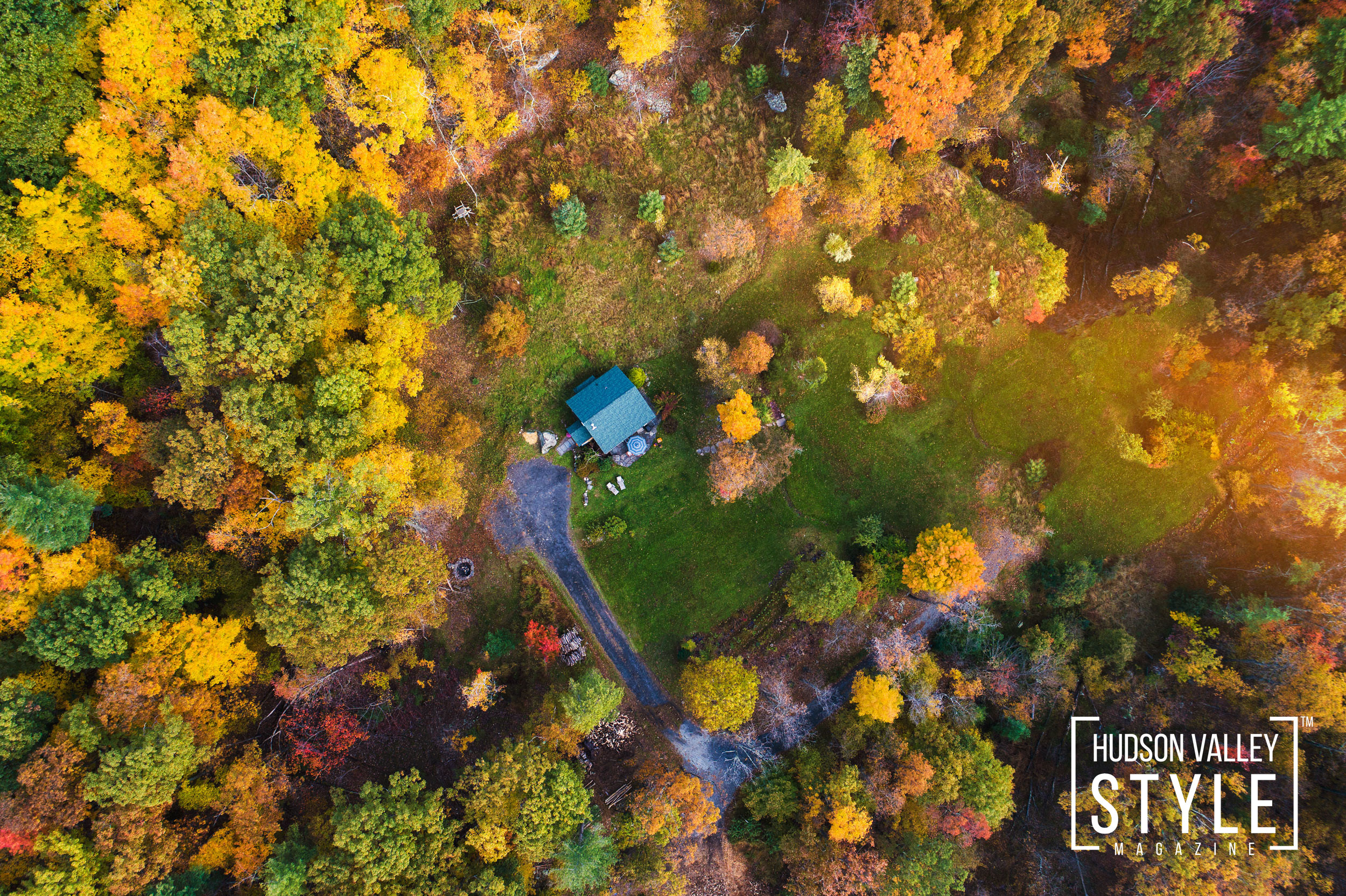 Top 5 Airbnb Stay in the Hudson Valley this Fall: Woodstock Mountain Cottage