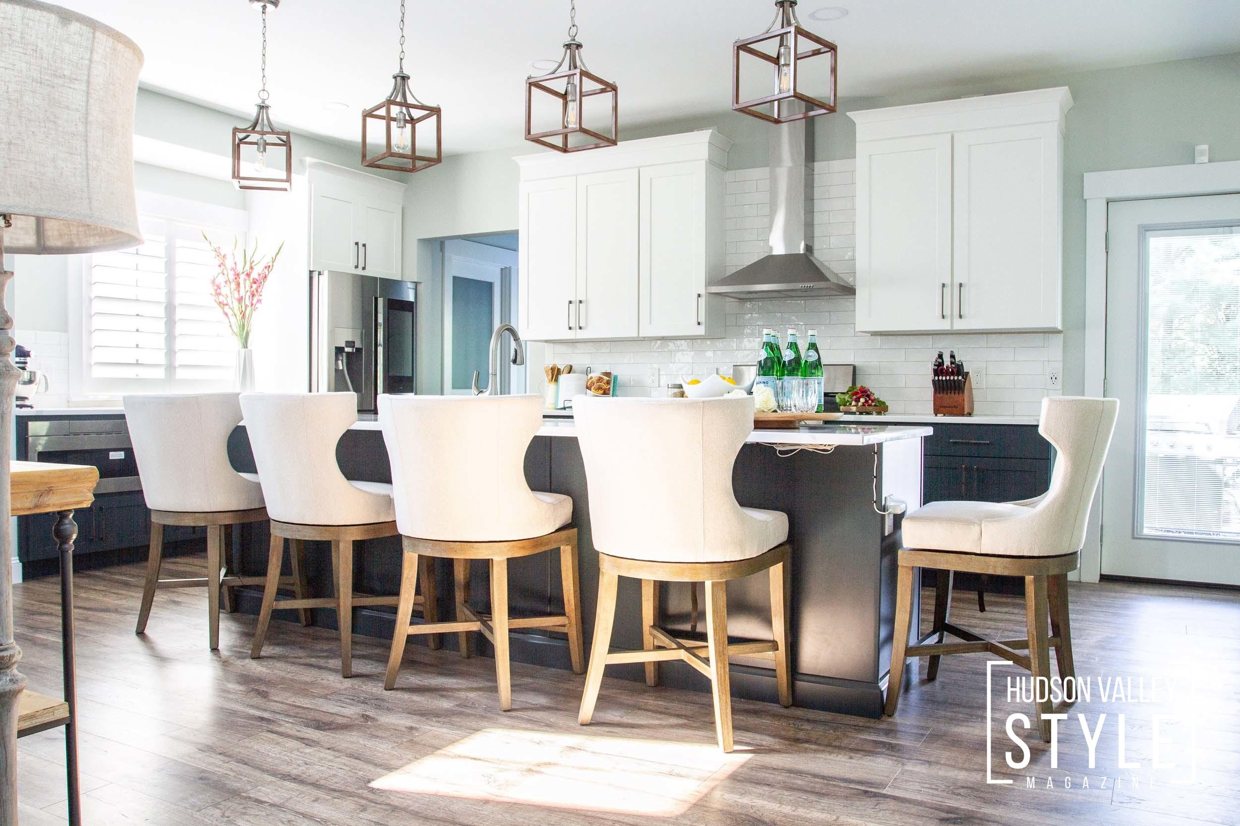 Modern Hudson Valley Farmhouse Interior Design Project by Jennifer Lynn