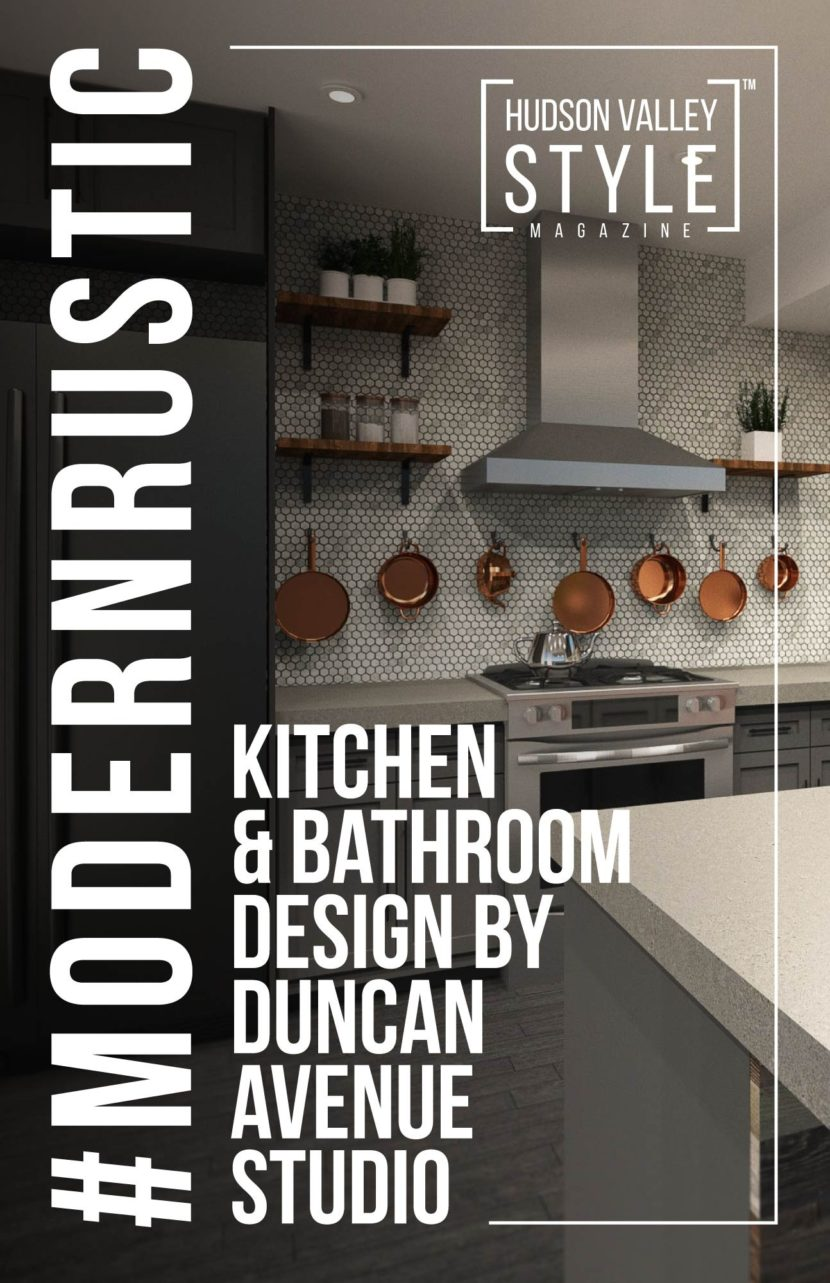 Modern Rustic Kitchen and Bathroom Design by Duncan Avenue Design Studio