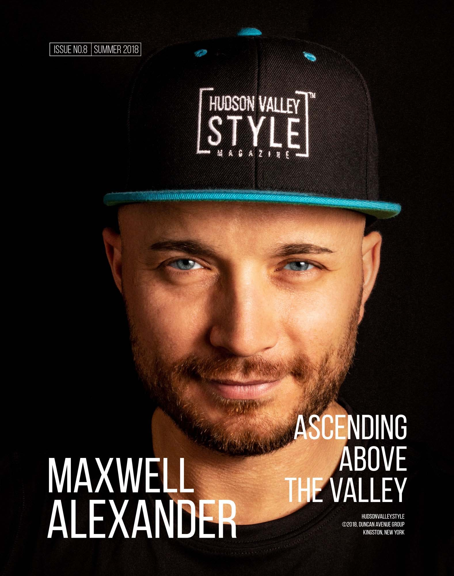 Hudson Valley Style Magazine - Maxwell Alexander Cover