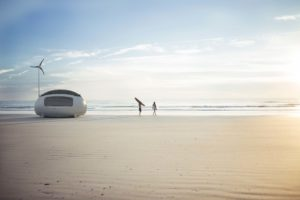 Could European EcoCapsule become a Solution for the Housing Crisis in the United States? Photography © Ecocapsule Holding