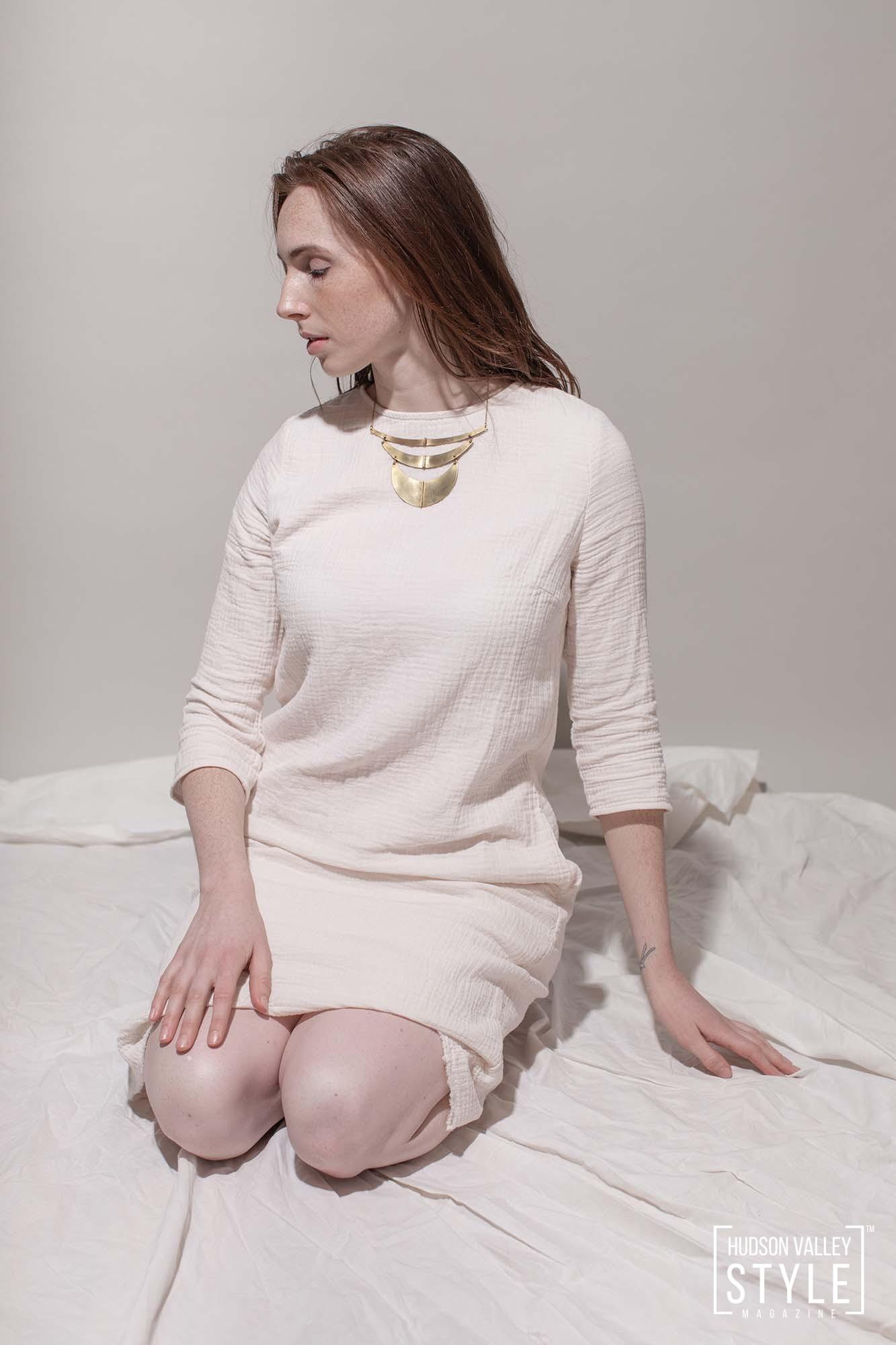 Aligned Necklace - Tiny Anvil