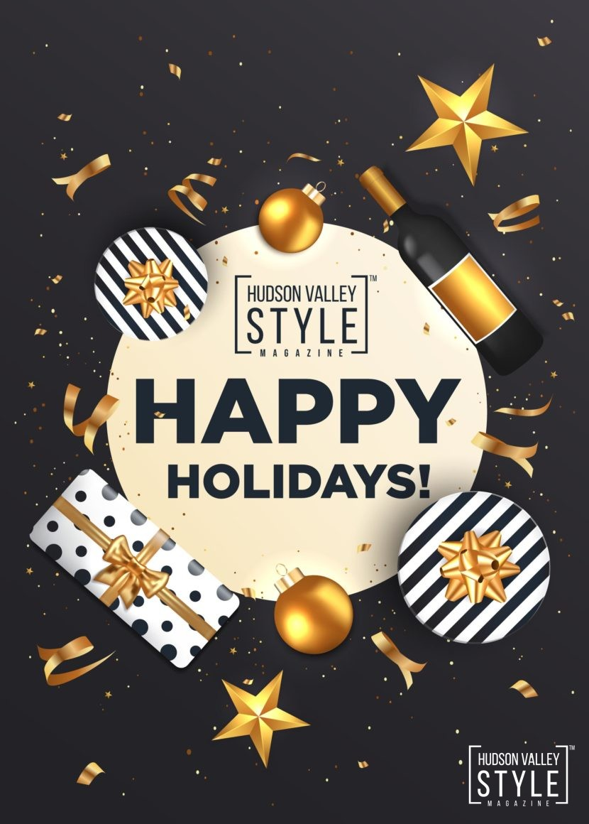 Happy Holidays 2020 Postcard from the Hudson Valley Style Magazine