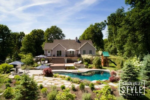Luxury Summer Paradise with Heated Pool and Organic Garden, right here in the Hudson Valley