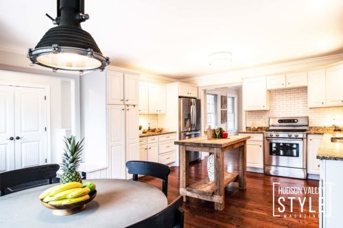 Modern Rustic Kitchen, Granite Countertops - Luxury Hudson Valley Home for Sale - Almax Realty - Hudson Valley's Best Realtors
