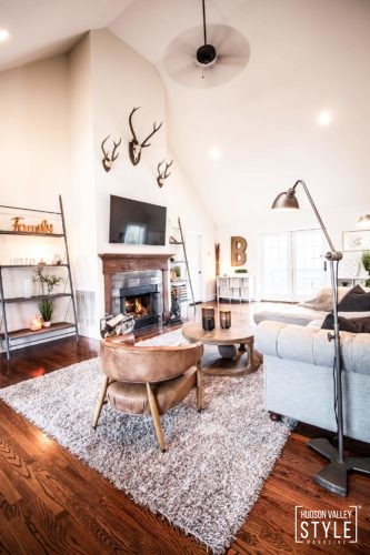 Authentic Modern Rustic Interior Design - Luxury Real Estate Property for Sale in Rock Tavern, NY - Almax Realty - The Best Real Estate in the Hudson Valley