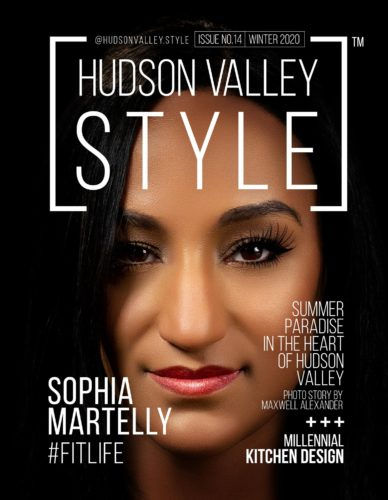Cover Story with Fitness Trainer Sophia Martelly - Winter 2020 Edition of the Hudson Valley Style Magazine