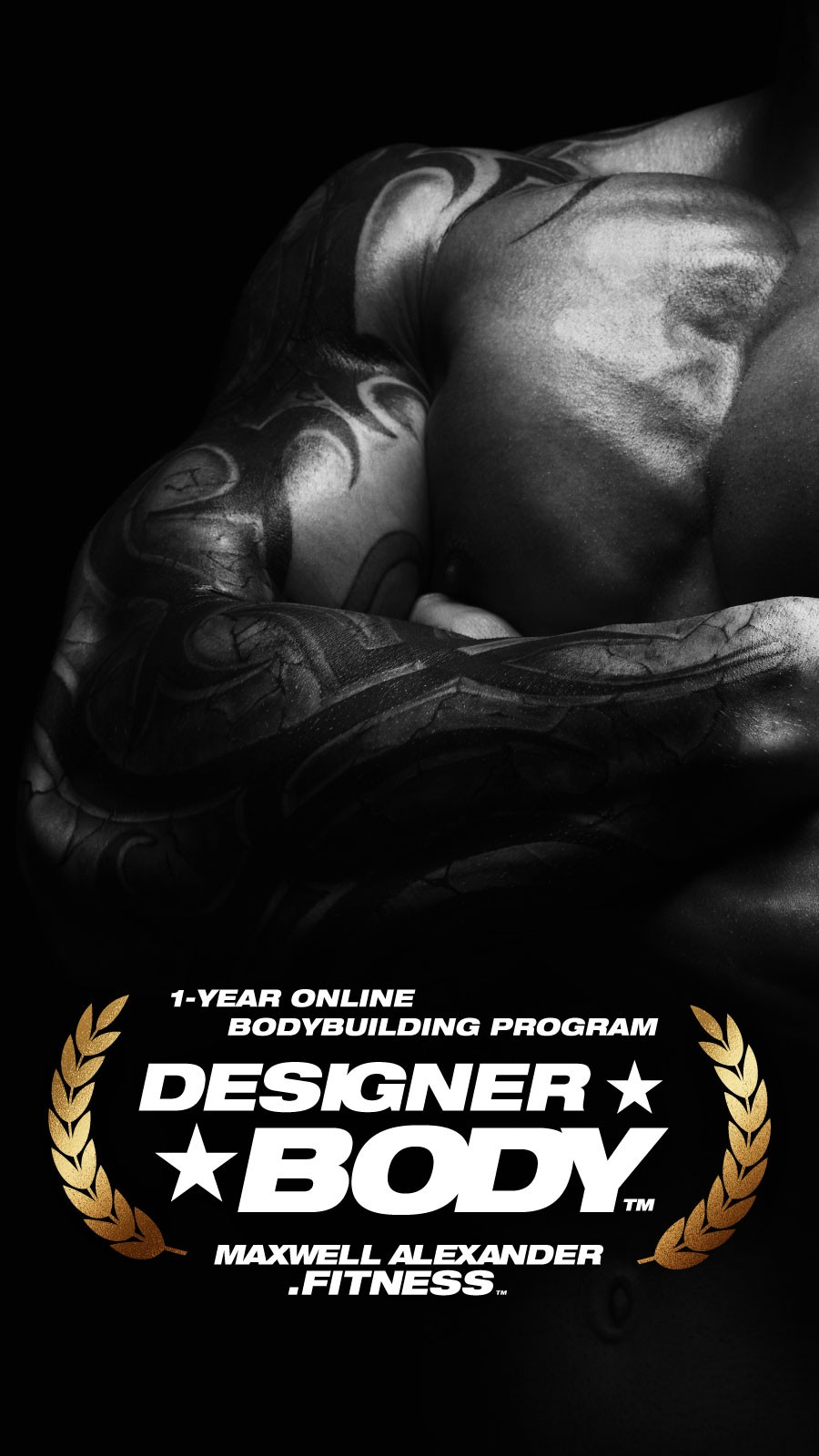 Designer Body - Online Bodybuilding Program by Maxwell Alexander Fitness