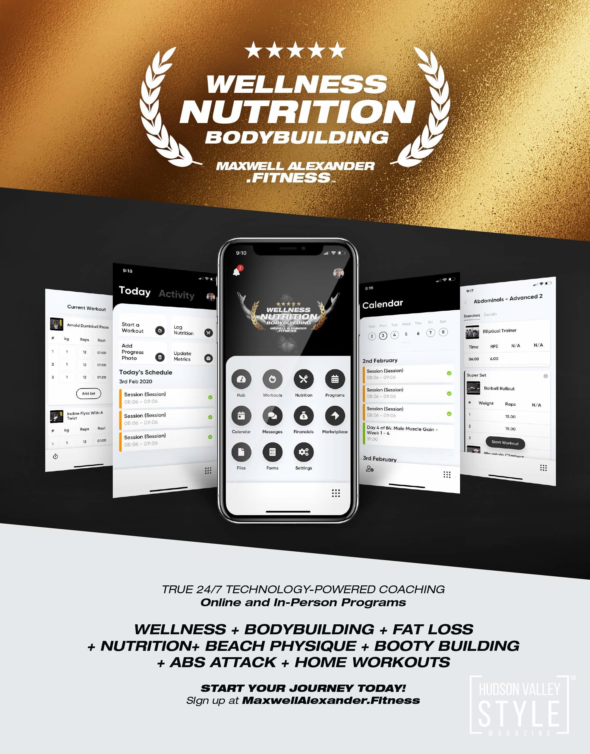 Maxwell Alexander Fitness - Wellness, Nutrition, Bodybuilding - Start your transformation journey today!