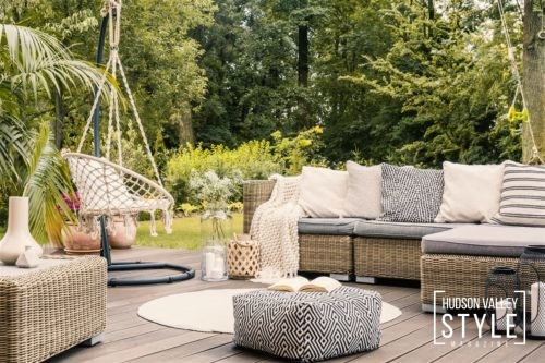 Simple ways to beautify your outdoor space and enjoy time at home