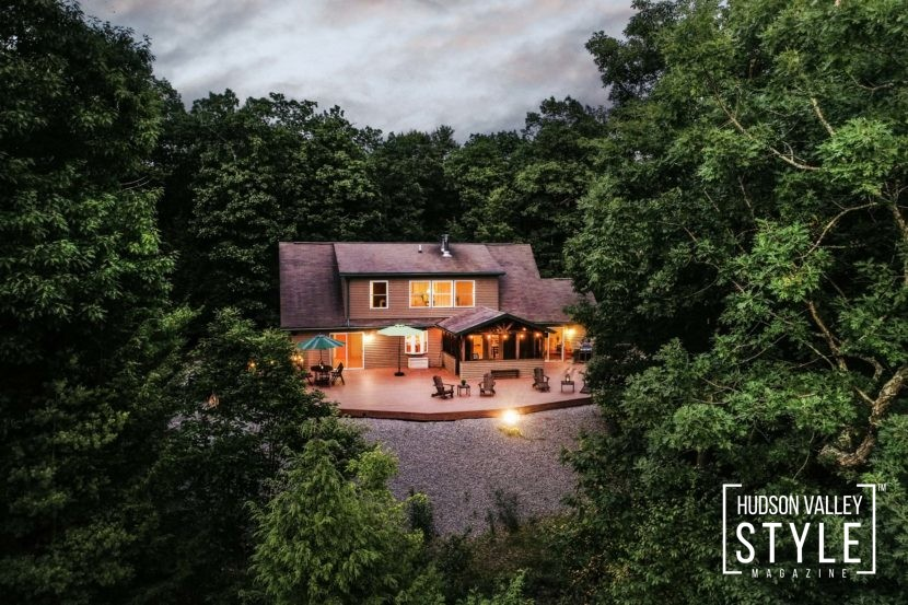 Villa Tondo - Luxury Vacation Home in Hudson Valley's Town of Saugerties Community