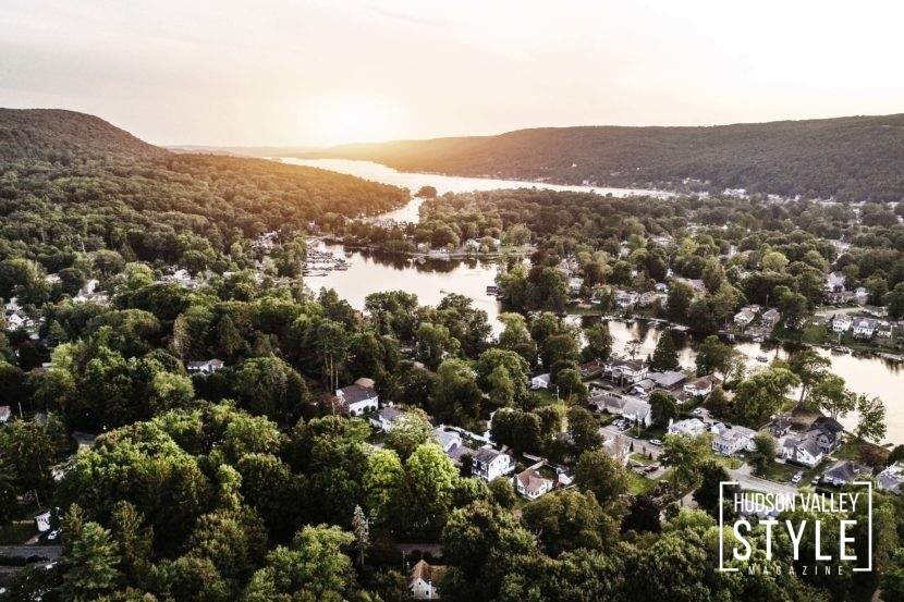 Hudson Valley Home for Sale in the resort-like Greenwood Lake Community