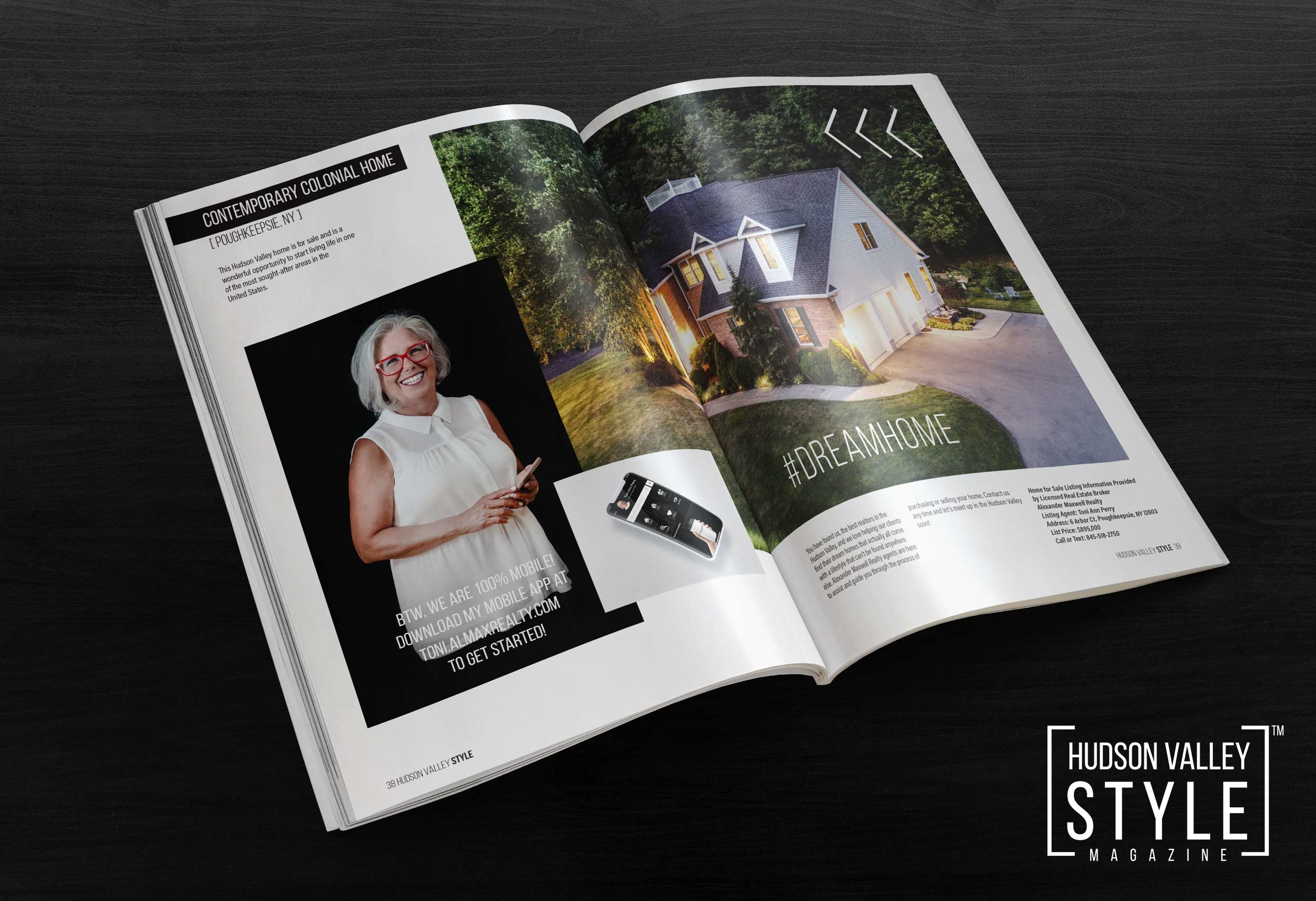 Special Real Estate Edition with Toni Ann Perry - Hudson Valley Style Magazine