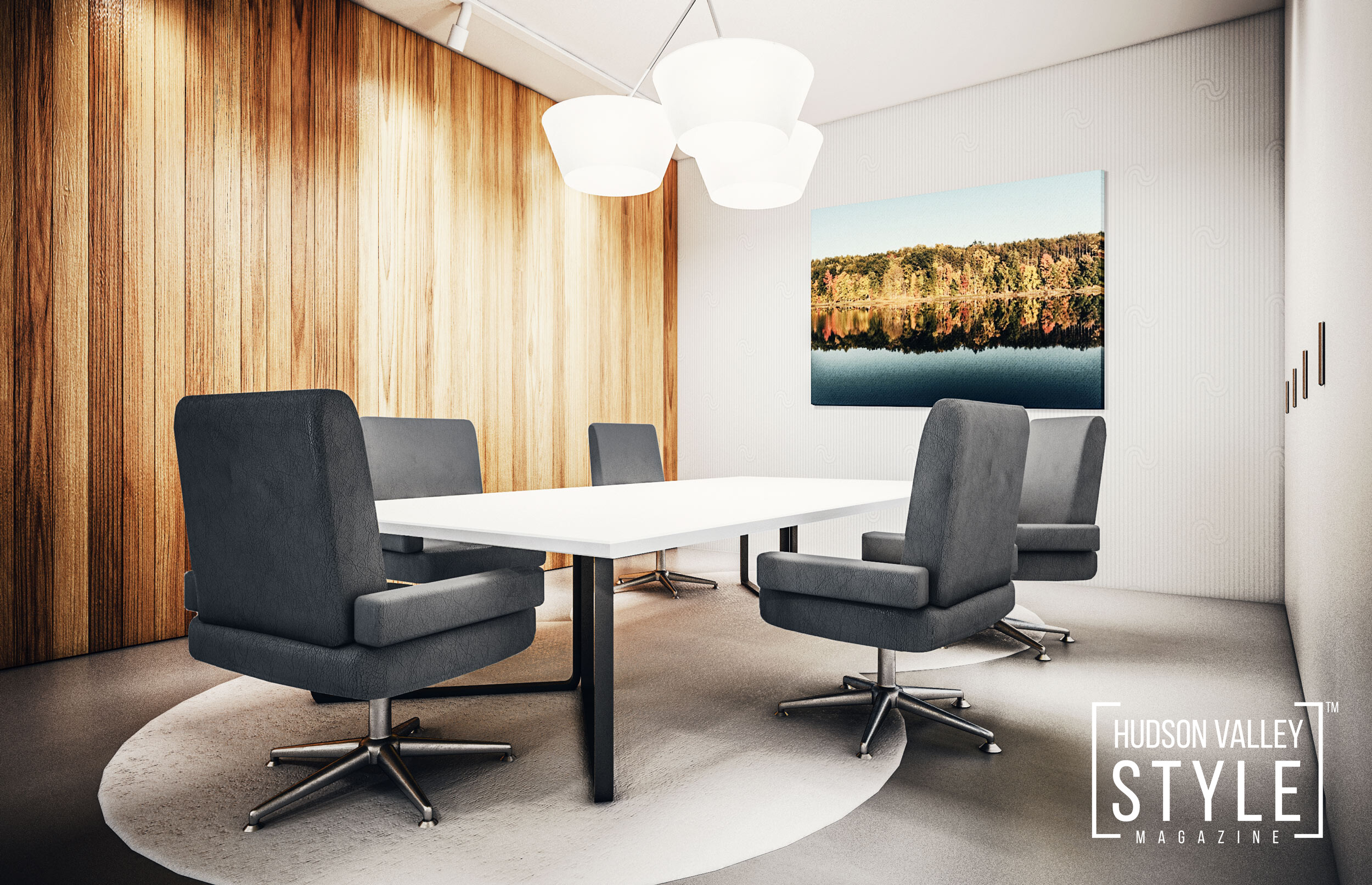 Practical Tips for Choosing Artwork for Your Hudson Valley Office by Designer Maxwell Alexander