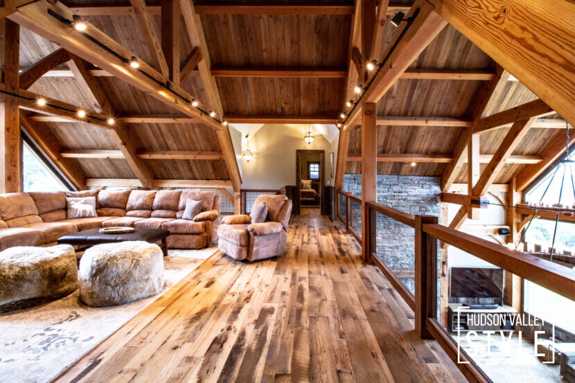 How to Create a Rustic Lodge Vibe in Your Hudson Valley Home in 5 Simple Steps - Hudson Valley Style Living with Kei Kullberg