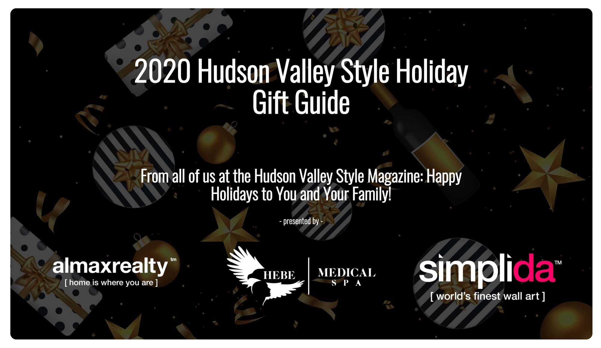 2020 Hudson Valley Style Holiday Gift Guide