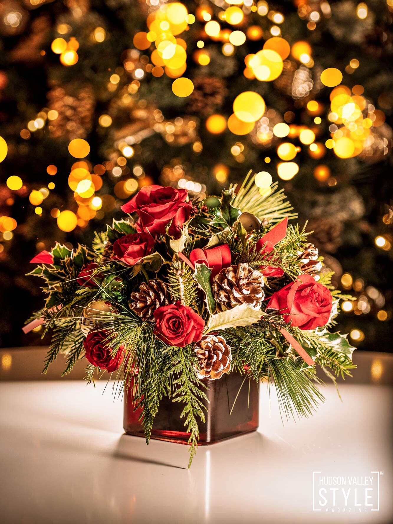 Mystic Rose Florist in Montgomery, NY - Hudson Valley Style Holiday Gift Guide