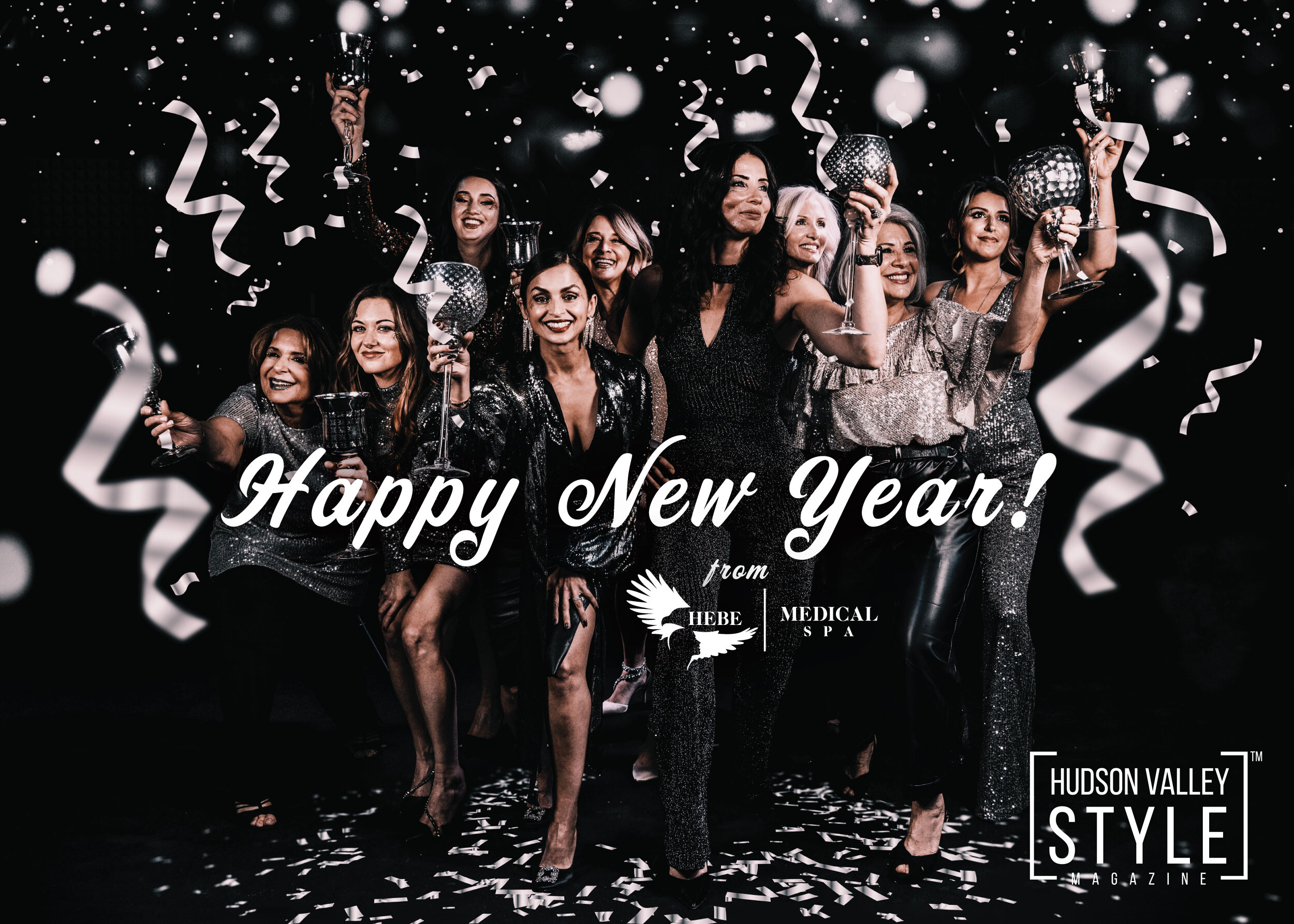 Happy New Year from Hebe Medical Spa - Photography by Maxwell Alexander, Duncan Avenue Studios