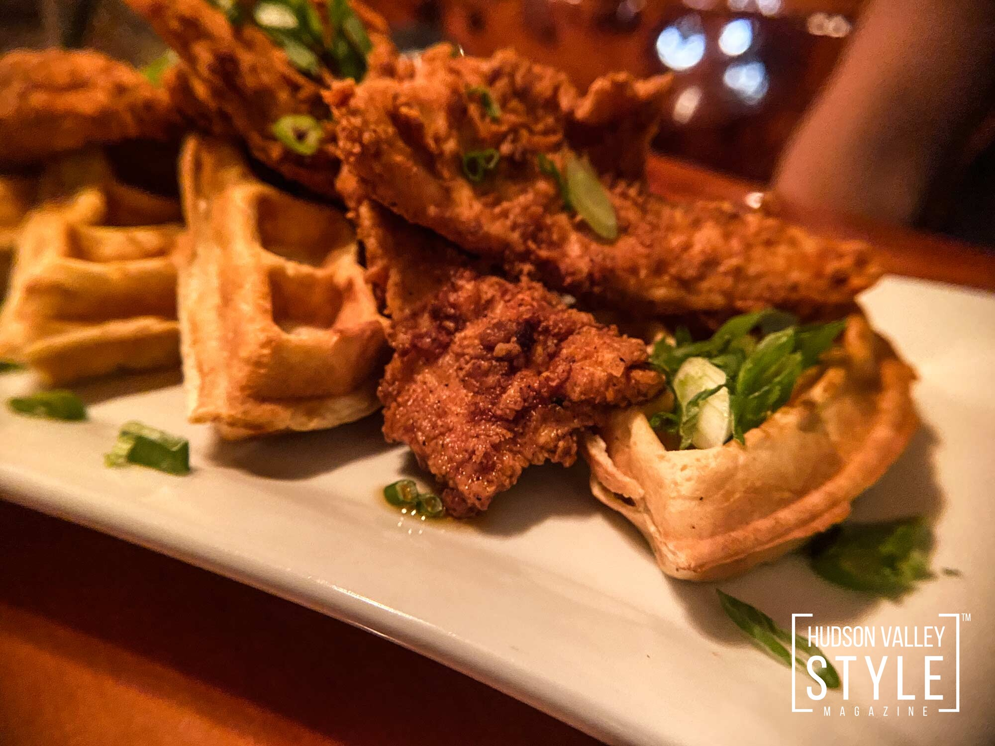 Buttermilk chicken and waffles by 3rd & Co