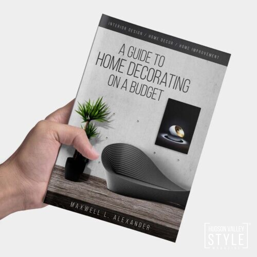 Start New Year with Fresh Home Decor on a Budget! Home Decorating Guide by Maxwell Alexander