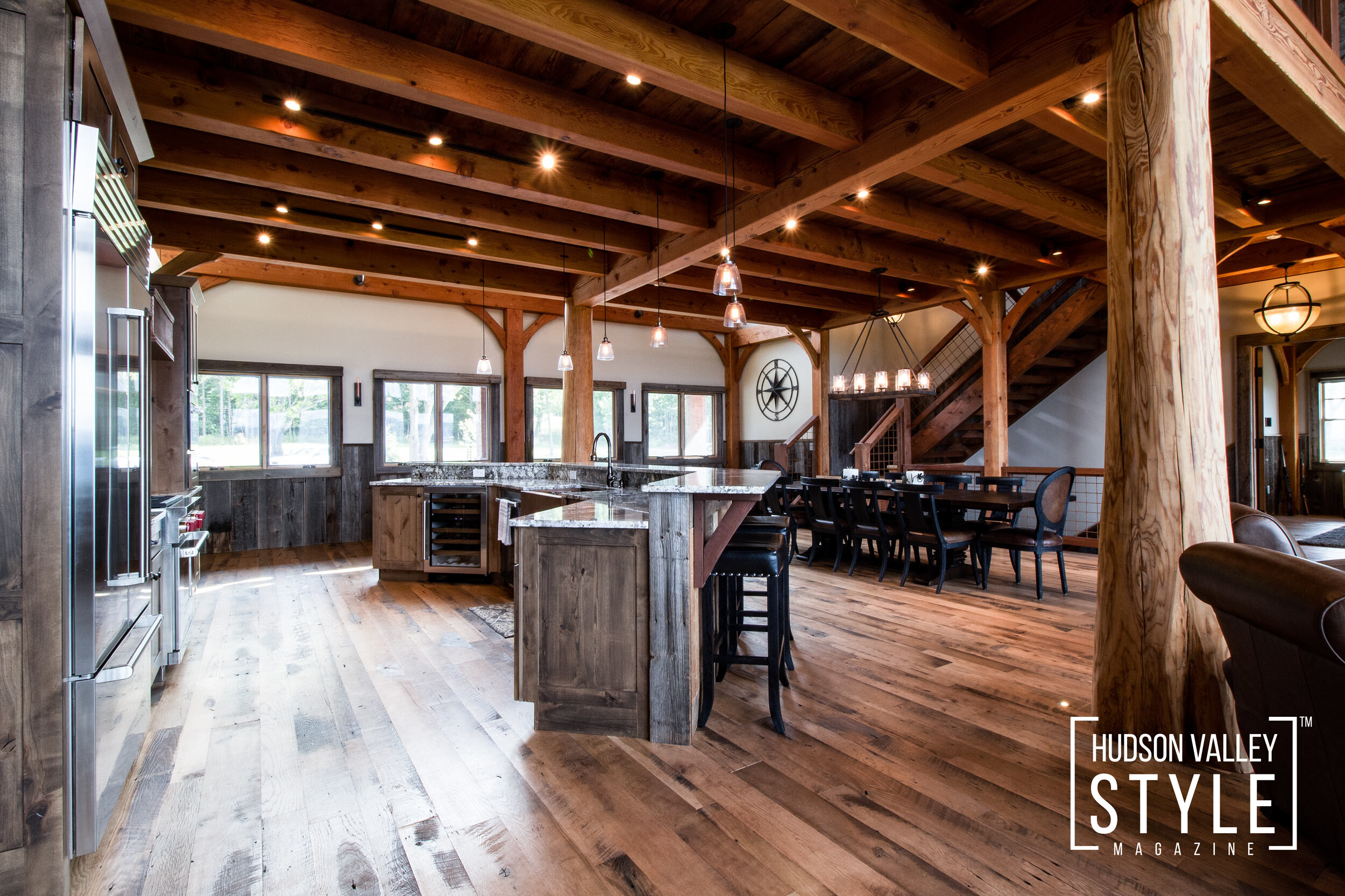 Choosing Decor for Your Hudson Valley Lodge or Cabin With a Rustic Theme by Designer Maxwell L. Alexander (Editor-in-Chief, Hudson Valley Style Magazine)