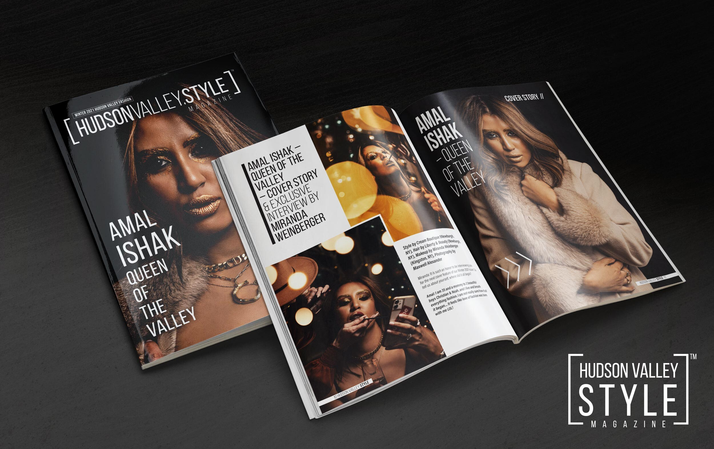 Amal Ishak – Queen of the Valley – Winter 2021 Fashion Edition